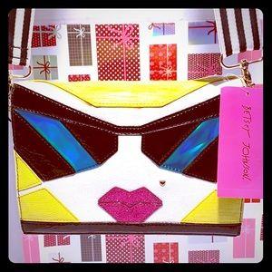 NEW/ NWT Betsy Johnson CrossbodySling Bag